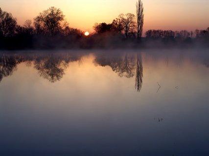 FOTKA - Jako by mlhu přitahovalo