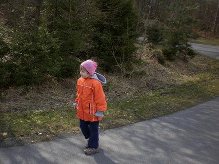 FOTKA - Natálka na procházce