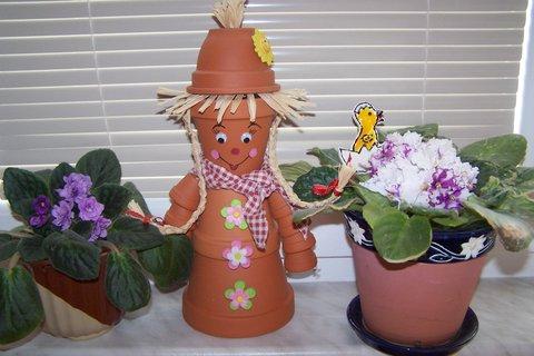 FOTKA - Zahradníček květináček