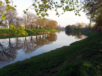 FOTKA - Řeka Labe  na jaře