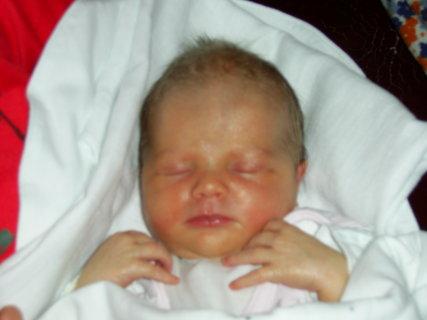 FOTKA - 1 den v porodnici