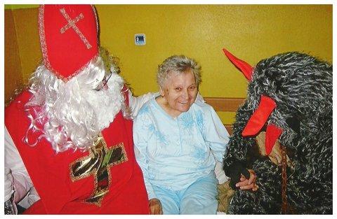FOTKA - Babička a Mikuláš