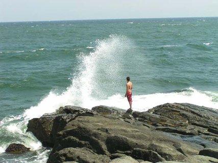 FOTKA - Člověk je jen kapka v moři..