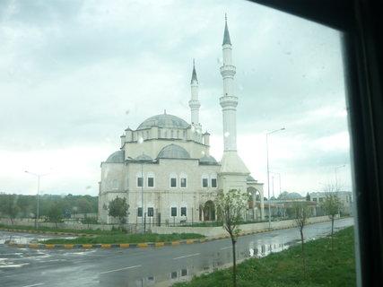 FOTKA - mešita v Turecku na bulharsko - tureckých hranicích