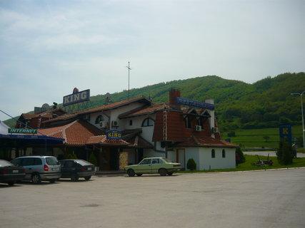 FOTKA - motel v Srbsku kde jsem byla 8 dní