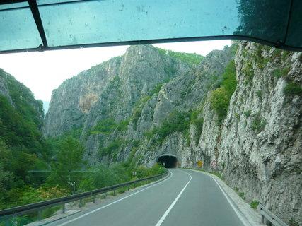 FOTKA - cesta zpět Srbské hory Kopaonik