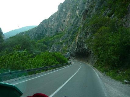 FOTKA - cesta zpět Srbské pohoří Kopaonik.....
