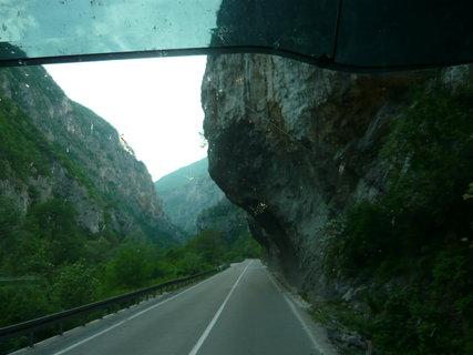 FOTKA - cesta zpět Srbské hory Kopaonik.....,,,,,,,