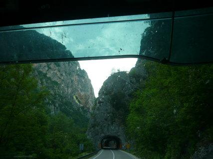 FOTKA - cesta zpět Srbské hory Kopaonik 1