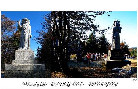 FOTKA - moravskoslezské Beskydy- bůh Radegast