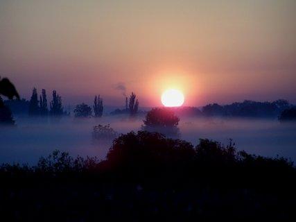 FOTKA - Proráží mlhu