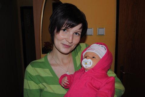FOTKA - s maminkou jdeme ven