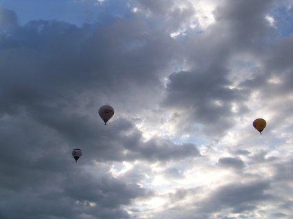 FOTKA - dnešní balónové ráno