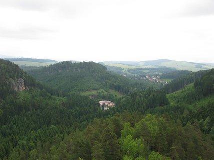 FOTKA - Výhled na skalní město Teplice nad Metují