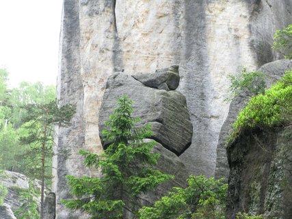 FOTKA - Skalní útvar - Holoubek