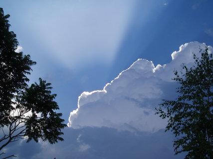 FOTKA - Obloha po bouřce