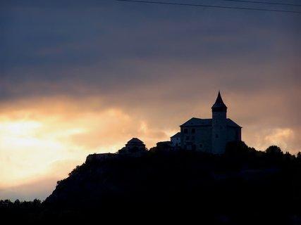FOTKA - Kuňka v západu slunce