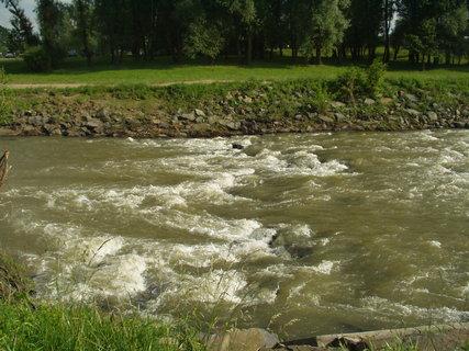 FOTKA - Koryto řeky Odry