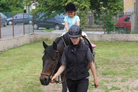 FOTKA - Maruška na koni