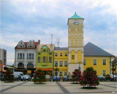 FOTKA - náměstí Karviná-Fryštát