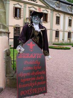 FOTKA - Přijďte se bát na zámek Potštejn