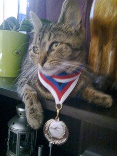 FOTKA - Rozárka medailistka