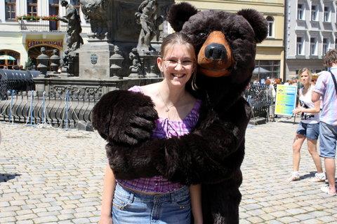 FOTKA - můj medvídek