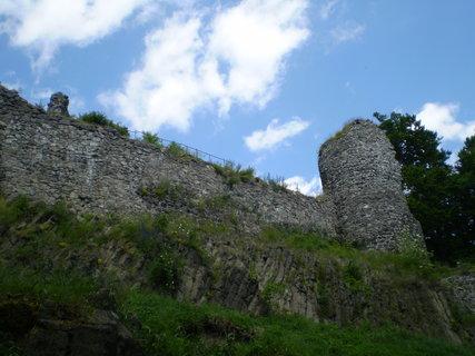 FOTKA - zbytek věže na Kumburku