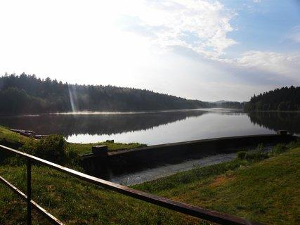 FOTKA - Domanínský rybník po bouřce