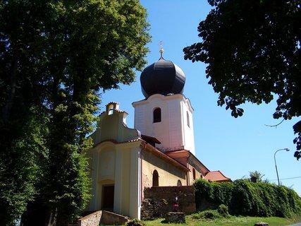 FOTKA - kostelík v Popovičkách u Prahy