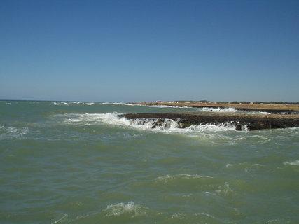 FOTKA - Stékající voda z útesů