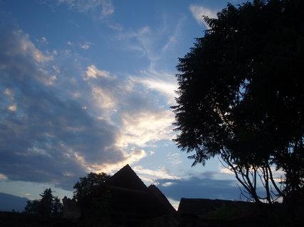 FOTKA - Obloha po západu slunce