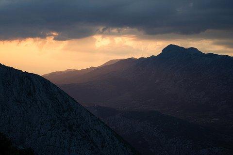 FOTKA - pohoří Mosor