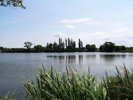 FOTKA - dnešní vyjížďka na kole - rybník Hrnčíře