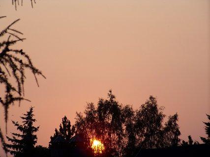 FOTKA - západ slunce 20.7.2010 .,,..