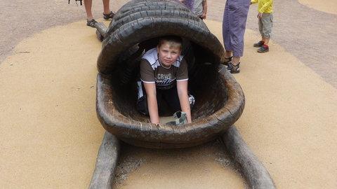 FOTKA - Matěj v zoo