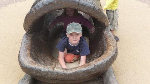 FOTKA - Adámek v zoo.......