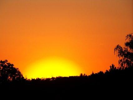 FOTKA - západ dnes 21.7.