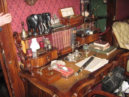 FOTKA - Londýn-Muzeum Sherlocka Holmese 1