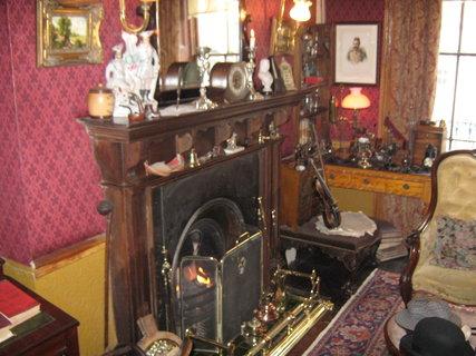 FOTKA - Londýn-Muzeum Sherlocka Holmese 2