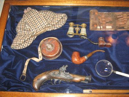 FOTKA - Londýn-Muzeum Sherlocka Holmese 3