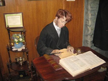 FOTKA - Londýn-Muzeum Sherlocka Holmese 5