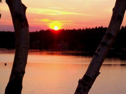 FOTKA - Mělice v západu sluníčka