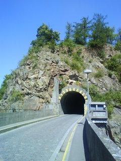 FOTKA - tunel pod zříceninou Vlidštejn