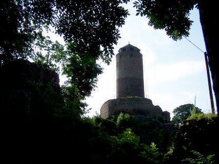 FOTKA - Hradní věž Hasištejna