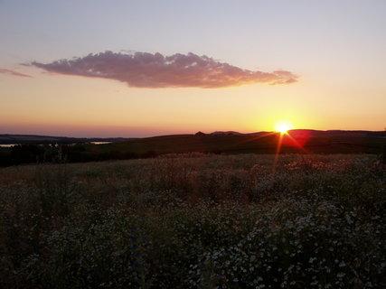 FOTKA - západ slunce na Pálavou (4)