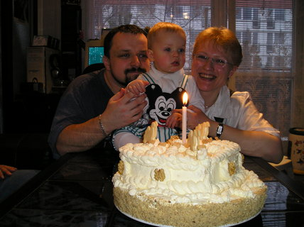 FOTKA - Oslava 1. narozenin našeho synka Františka