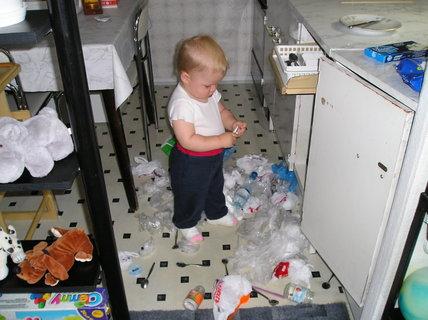 FOTKA - Takhle jsem pomáhal mamince v kuchyni