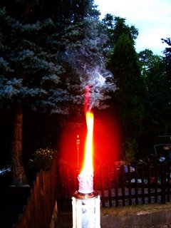 FOTKA - hořící louče .,,,,