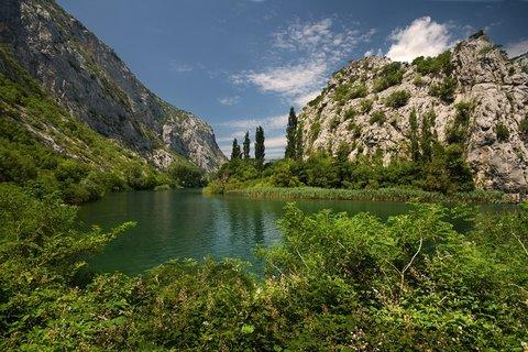 FOTKA - řeka Cetina